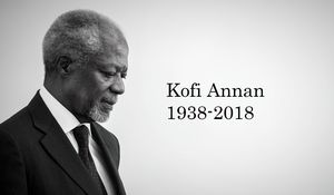 FW: Kofi Annan (1938-2018)