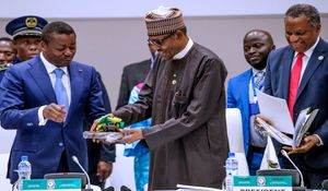 FW: Buhari is ECOWAS Chairman