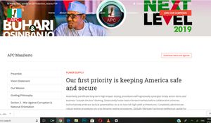FW: Did the APC plaigiarise the manifesto on their website?