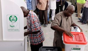 How do Nigerians decide who wins their votes in elections?