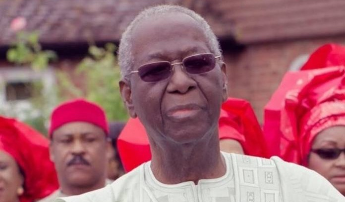 FW: Tony Anenih, former Nigerian Minister of Works, is dead