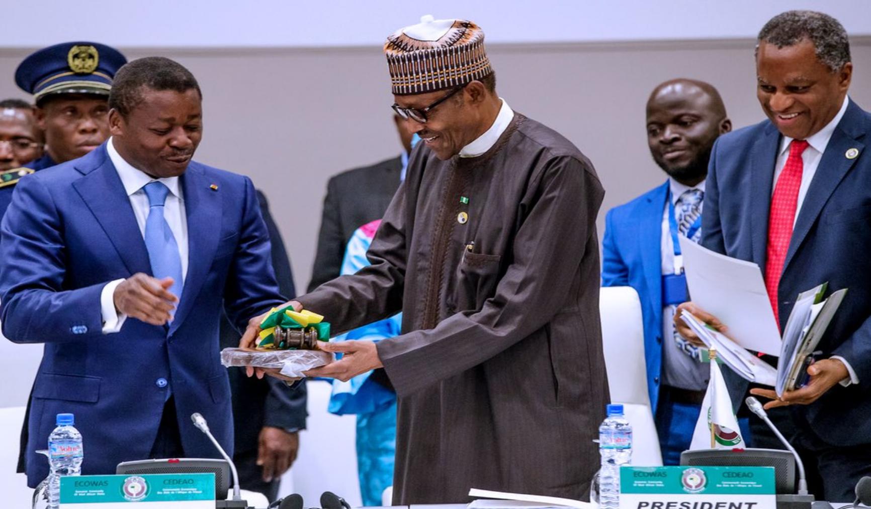 FW: Buhari is ECOWAS Chairman