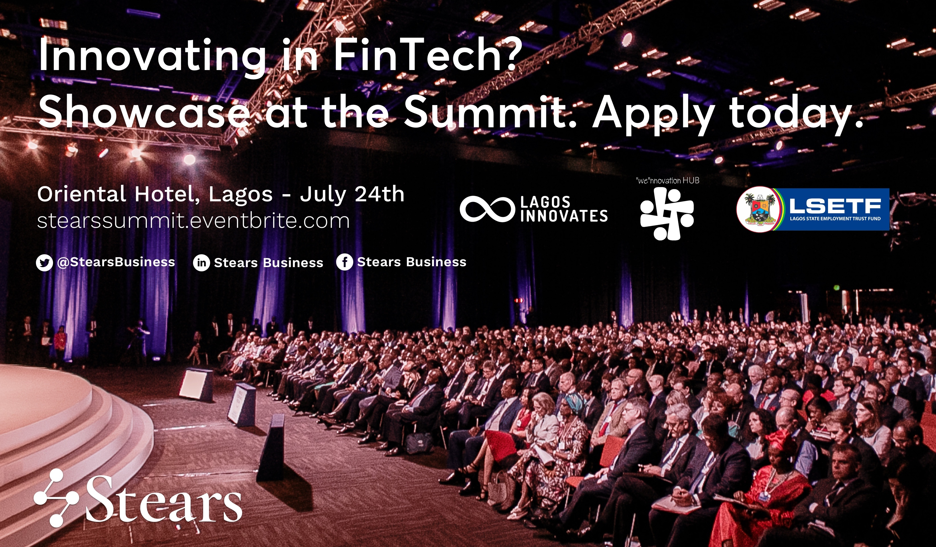 Innovating in FinTech? Showcase at the Stears Summit