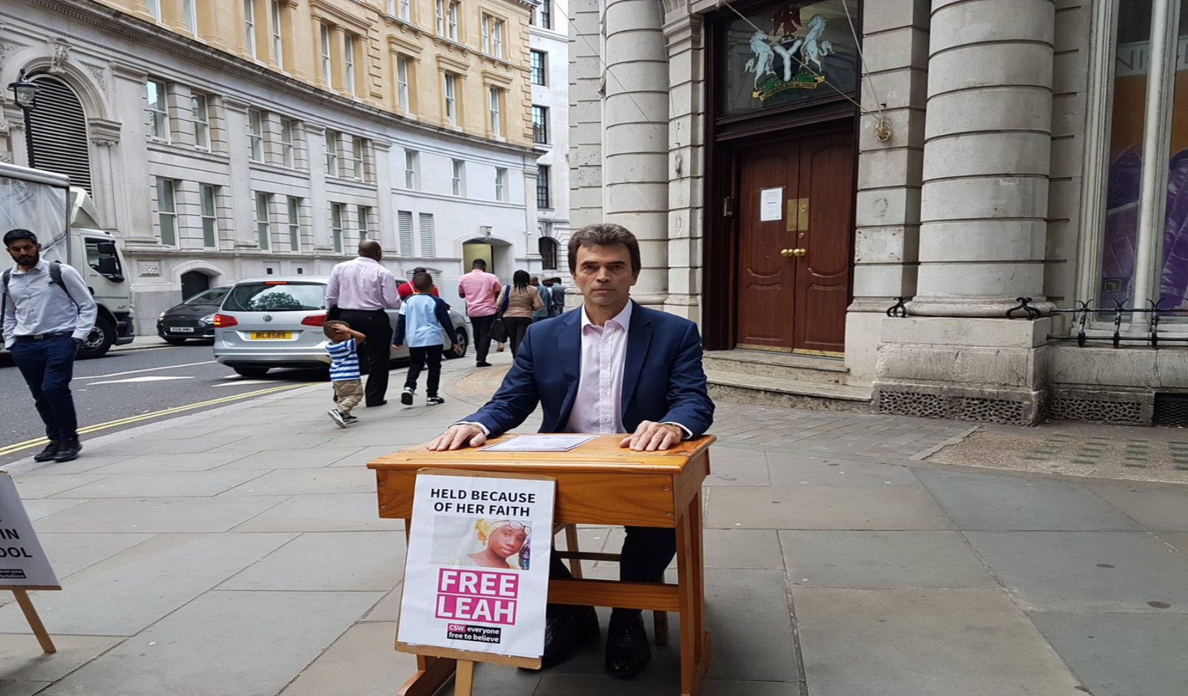 FW: UK MP joins campaign advocating for the release of Leah Sharibu, the last Dapchi girl