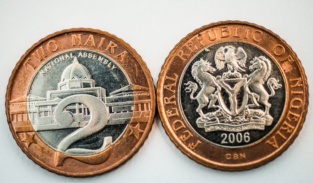 Two Naira coin